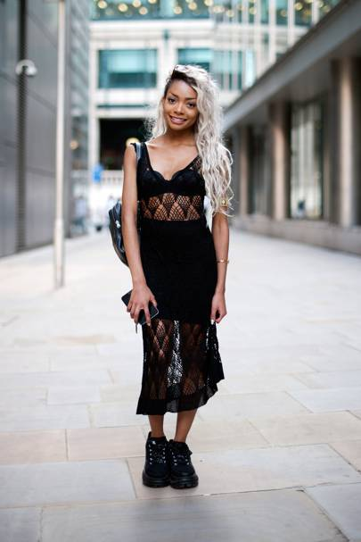 Nyane Lebajoa, Model and Fashion Blogger