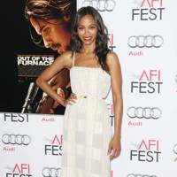 Zoe Saldana at the Out Of The Furnace premiere