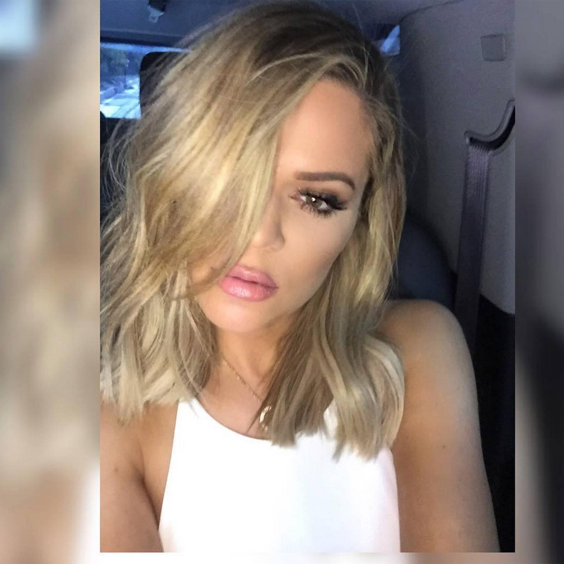 Khloe Kardashian Bob Hairstyle Pictures 2017 Glamour Uk