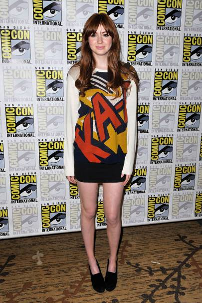 Karen Gillan at Comic-Con 2012