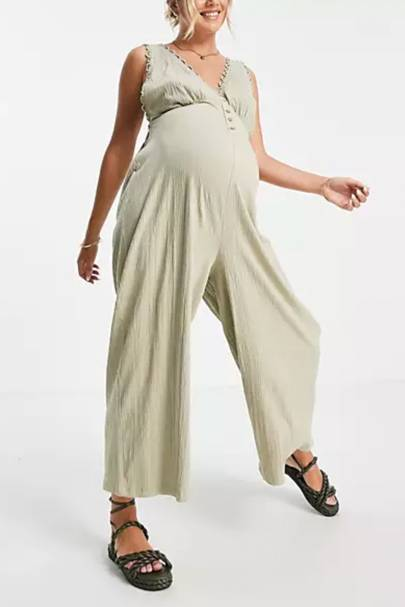 Best Maternity Overalls - On Trend Colour