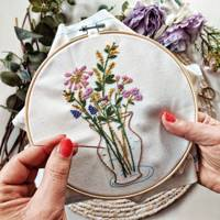 Best Mother's Day Gifts: the embroidery kit