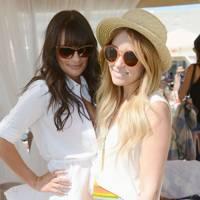 Lea Michele and Lauren Conrad at Coachella 2012
