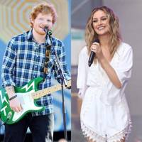 Perrie Edwards & Ed Sheeran