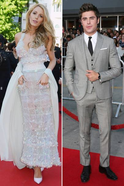 Glamour: Blake Lively & Zac Efron