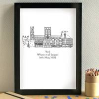 Anniversary Gift Ideas: the print