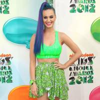 Katy Perry at the Kids' Choice Awards 2012