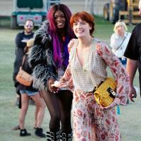 Florence Welch and Azealia Banks at Coachella 2012