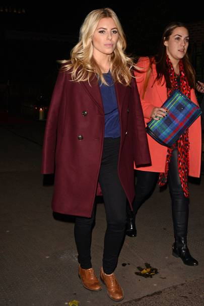 Mollie King at the Chain of Hope gala