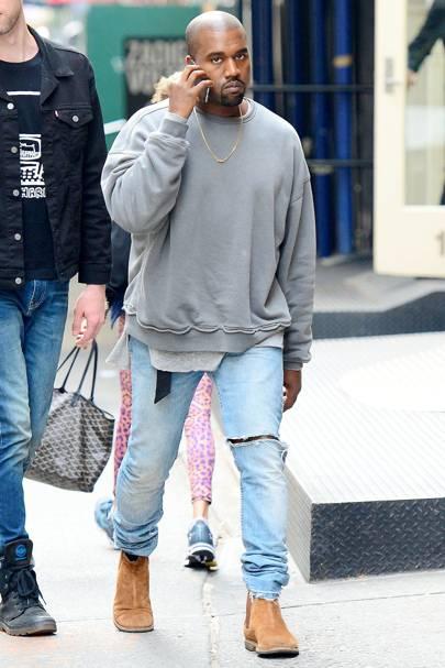 celebrities ripped jeans fashion 2017 glamourcom uk