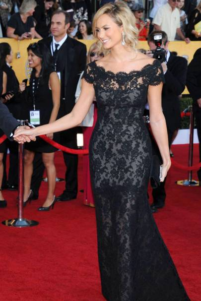 Stacy Keibler at the SAGs 2012