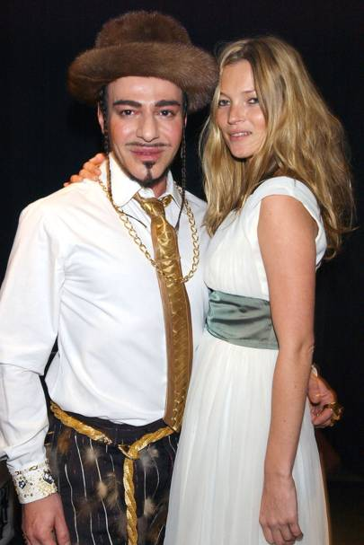 Kate Moss & John Galliano