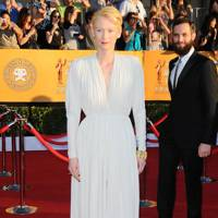 Tilda Swinton at the SAGs 2012