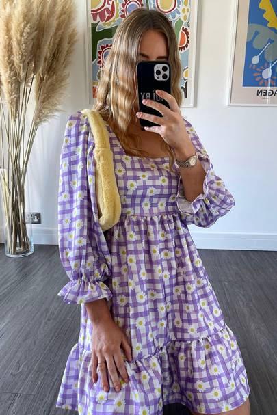 MOBLY THE LABEL - LILAC DAISY FLORA DRESS