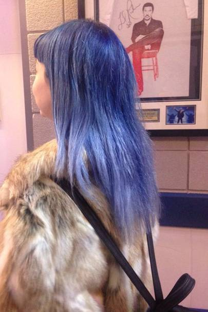 D is for Denim Hair