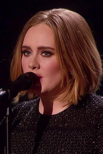 Adele Bob Haircut Short Hair On X Factor Picturesphotos Glamour Uk
