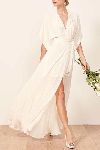 Reformation wedding dresses