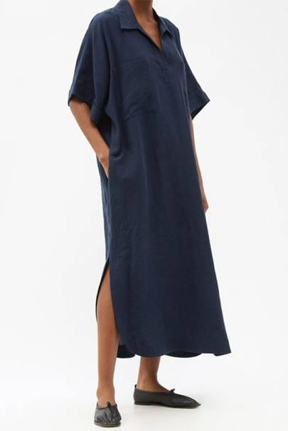 Linen dresses: Raey