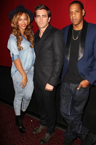 Beyoncé, Jake Gyllenhaal & Jay-Z