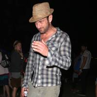 Gerard Butler at Coachella