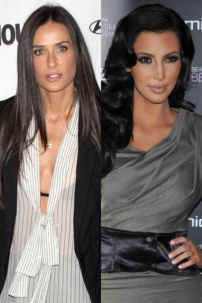 Demi Moore vs. Kim Kardashian