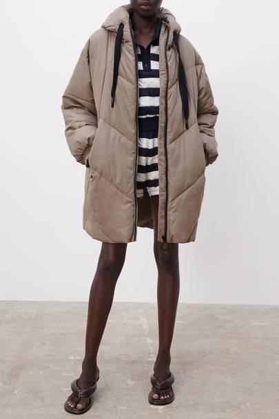 Best winter coat hooded puffer