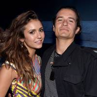 Orlando Bloom and Nina Dobrev