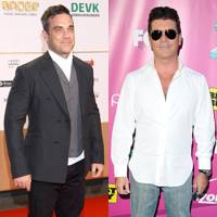 Robbie Williams & Simon Cowell
