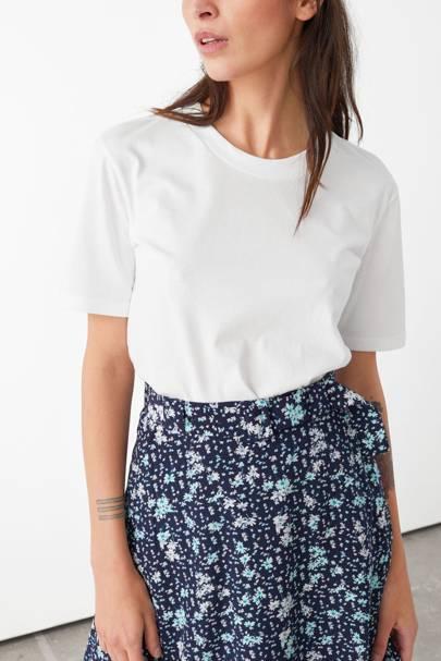 Best white t-shirt women: the organic cotton tee