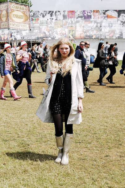 Emilie Axters, Student, Isle of Wight Festival