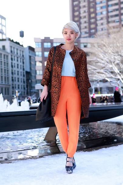 Danielle Roche, Blogger, New York