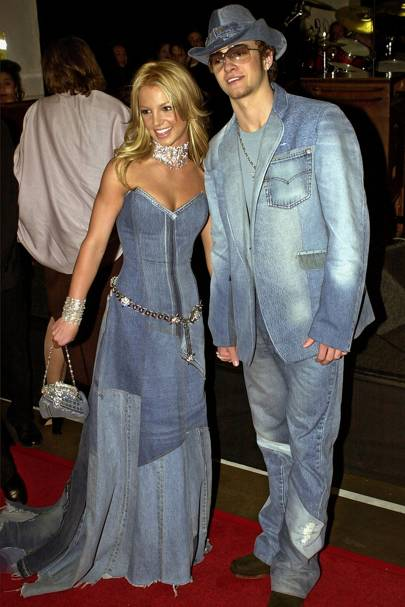 Justin Timberlake Talks Double Denim Moment With Britney Spears Glamour Uk