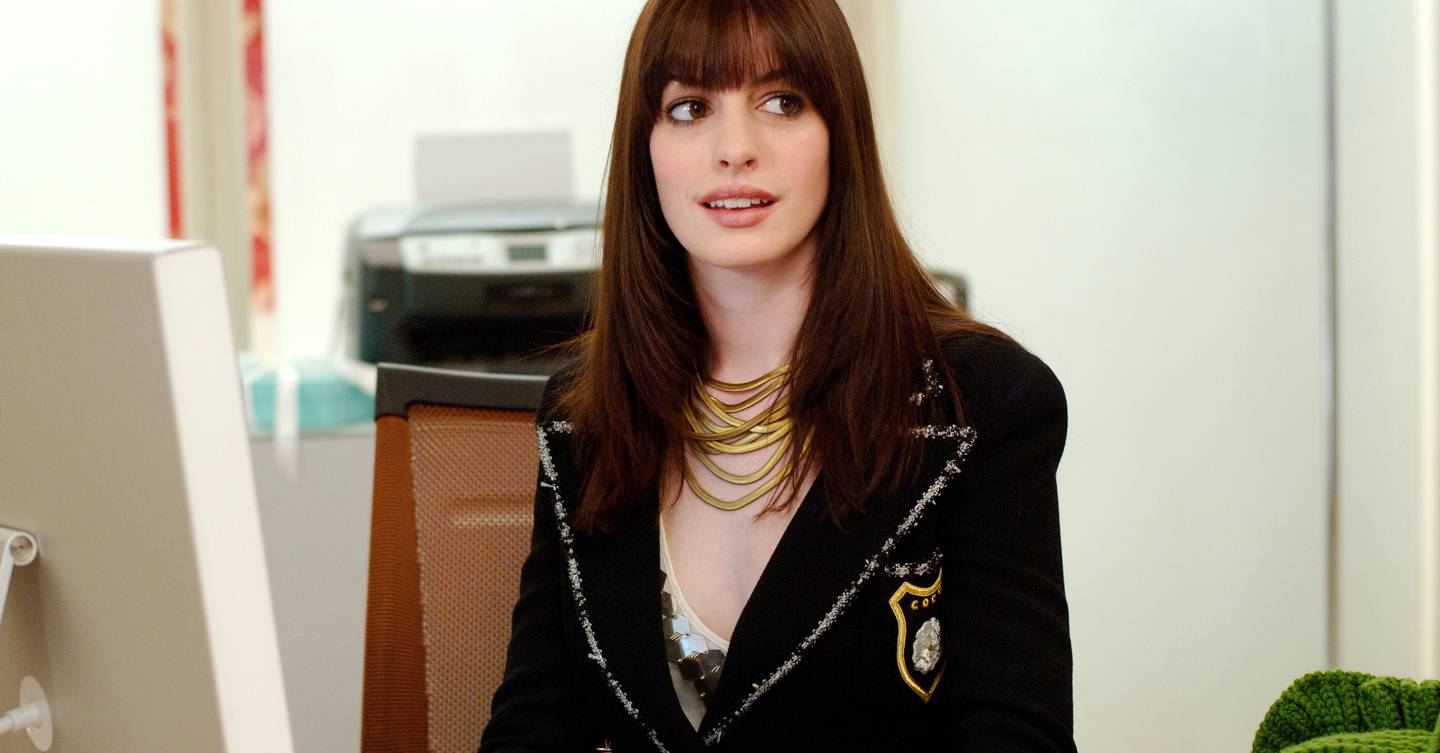 This is who was actually meant to play Andy in the Devil Wears Prada (and Anne Hathaway was 9th in line!)
