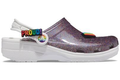 Best Women's Crocs - Summer 2021 - Translucent Glitter