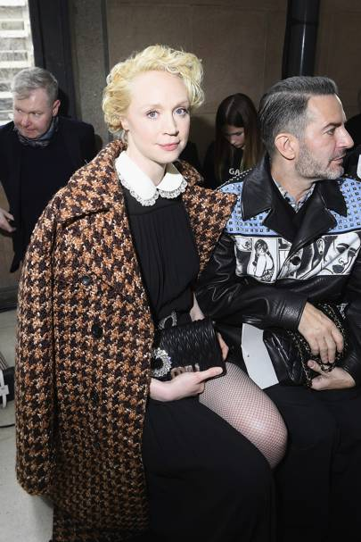 Gwendoline Christie and Marc Jacobs