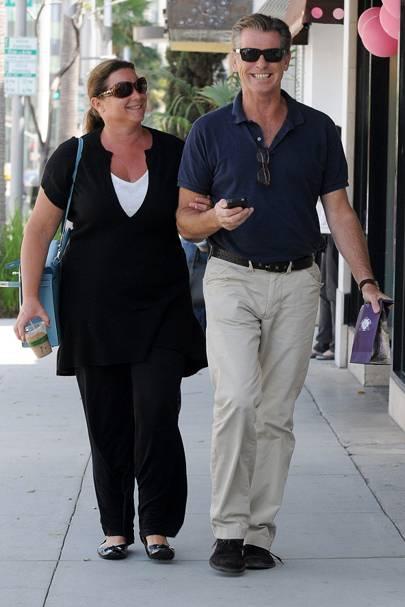 Pierce Brosnan & Keely Shaye Smith