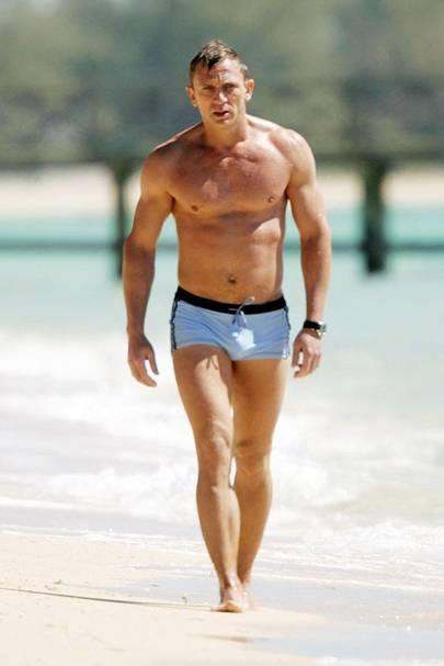 Men Swimming Trunks Daniel Craig David Beckham  9b8603e759