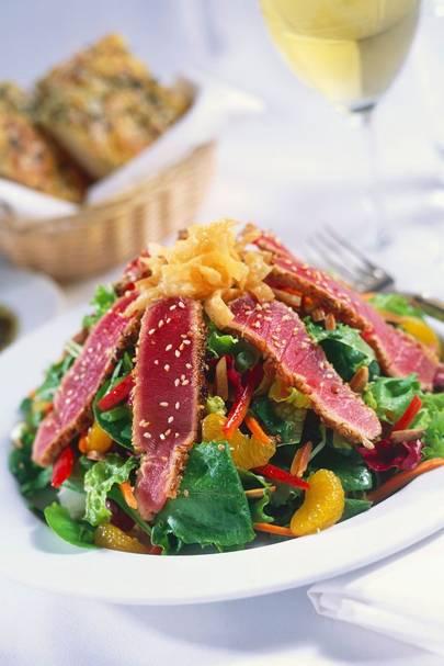 Tuna & Mandarin Salad