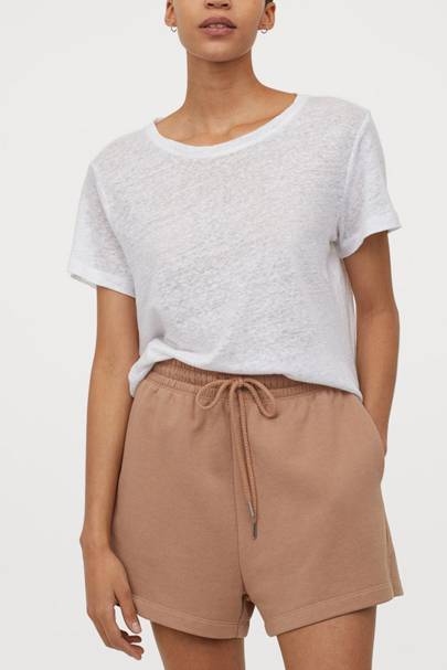 The sweatshirt shorts