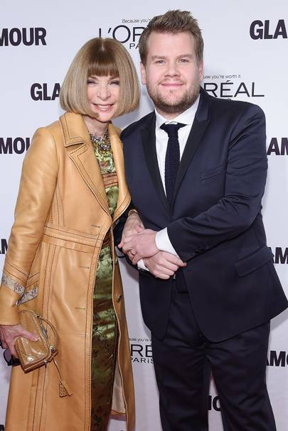 Anna Wintour is his biggest fan