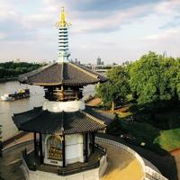 The London Peace Pagoda, Battersea Park