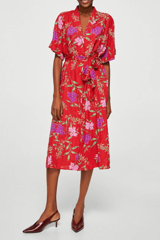 722d3cc6 Zara Floral Dresses 2018 - raveitsafe