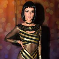 Emily Ratajkowski as Cleopatra