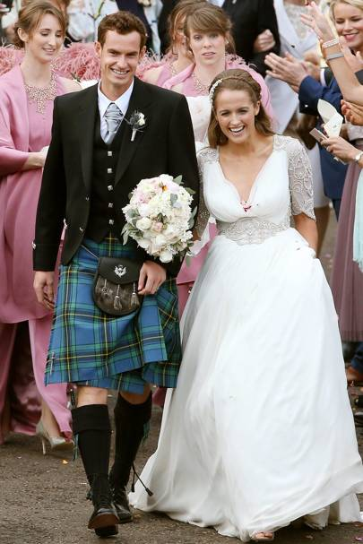 Andy murray and kim sears wedding images
