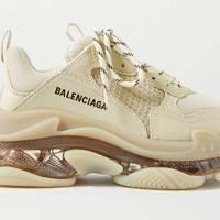 Best Balenciaga Trainers - Triple S Clear Sole