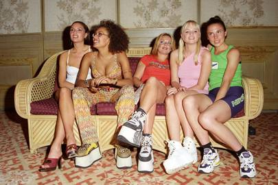 Spice Girls' Buffalo platforms