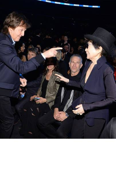 Paul McCartney & Yoko Ono