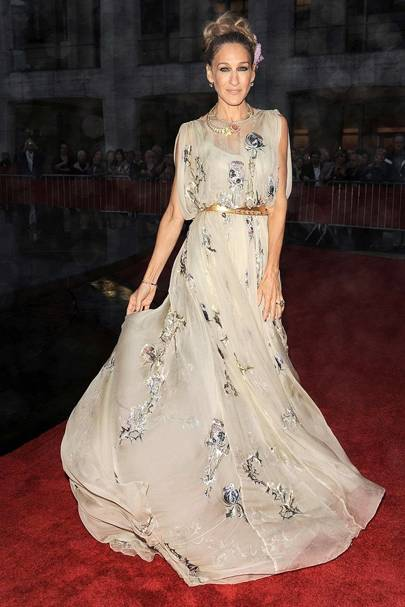 DO #10: Sarah Jessica Parker at the NYC Ballet's Valentino event, September