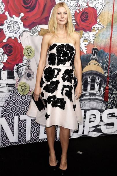 Gwyneth Paltrow at Printemps Haussmann in Paris