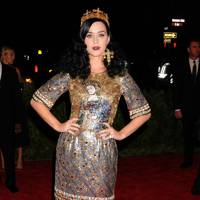 Katy Perry at the Met Gala